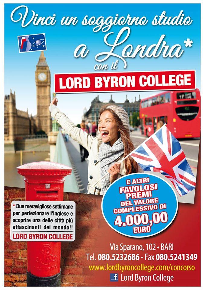 Concorso: Vinci un soggiorno studio a Londra con Lord Byron College ...