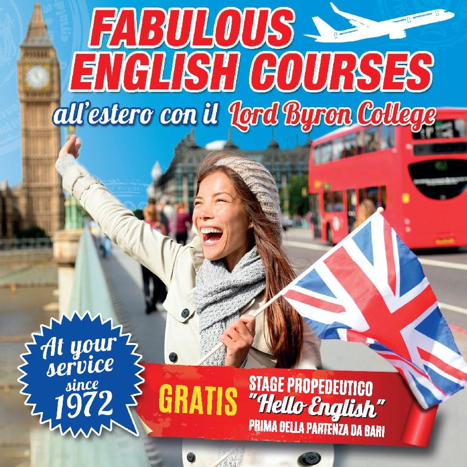 Soggiorni studio all\'estero - Lord Byron College Bari