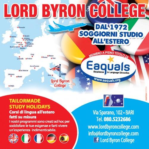 Soggiorni studio all'estero - Lord Byron College Bari